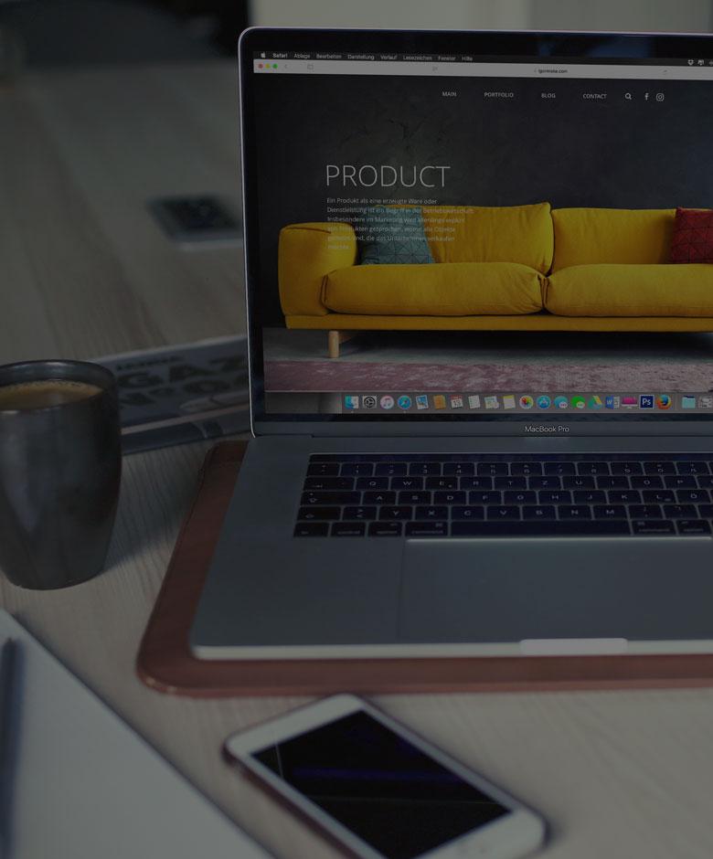 Leistungsbereich Webdesign